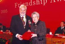 诺尔马赫教授获得2005年中国国家友谊奖